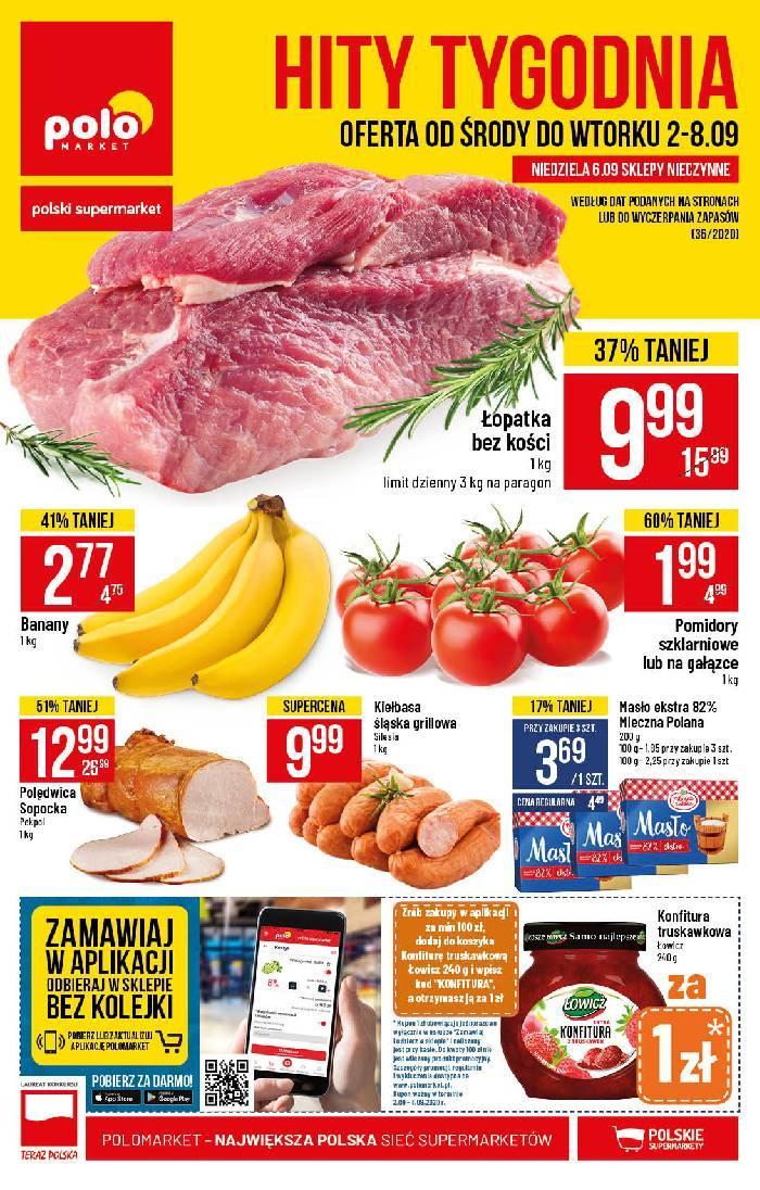Gazetka promocyjna POLOmarket do 08/09/2020 str.1