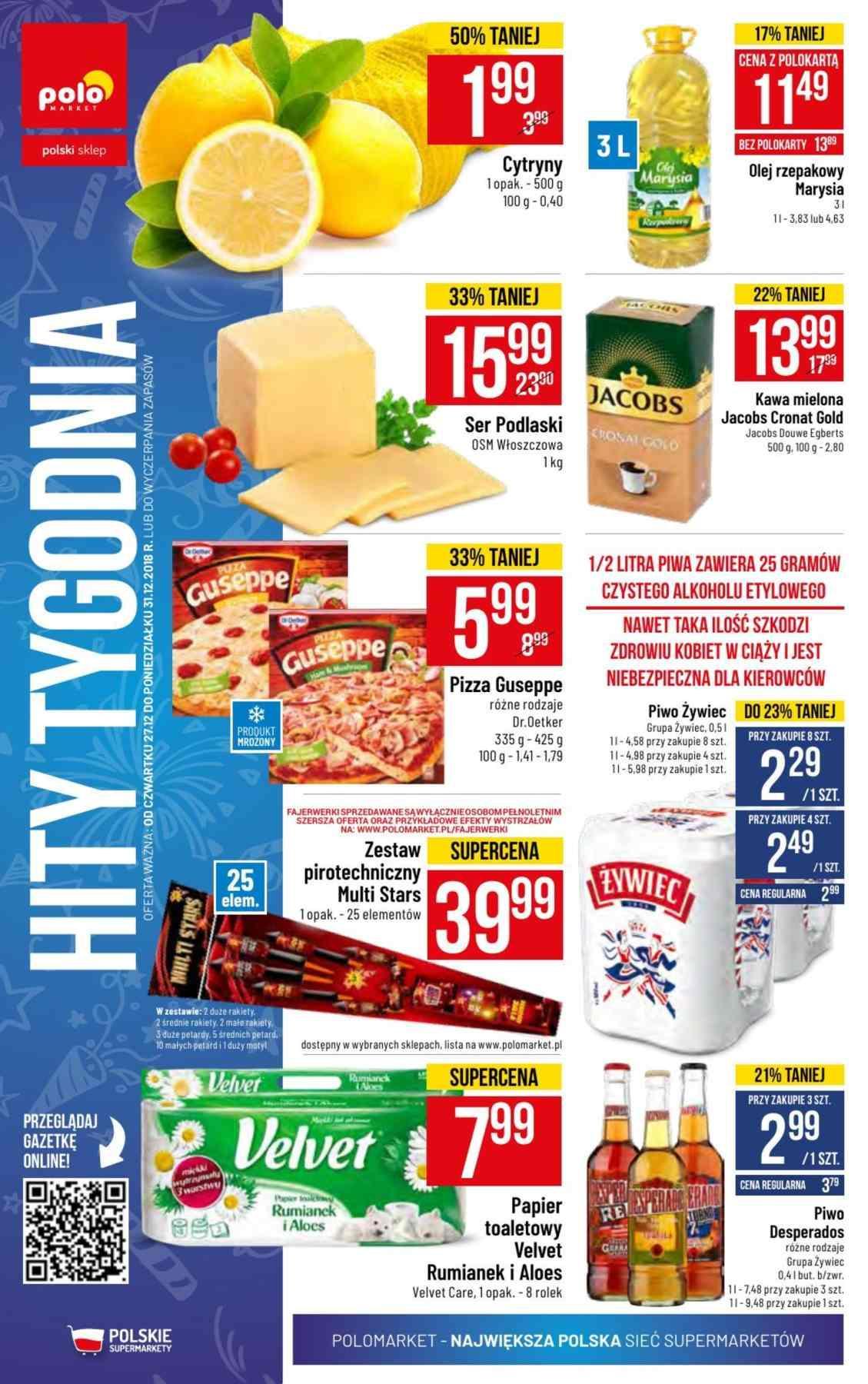 Gazetka promocyjna POLOmarket do 31/12/2018 str.23