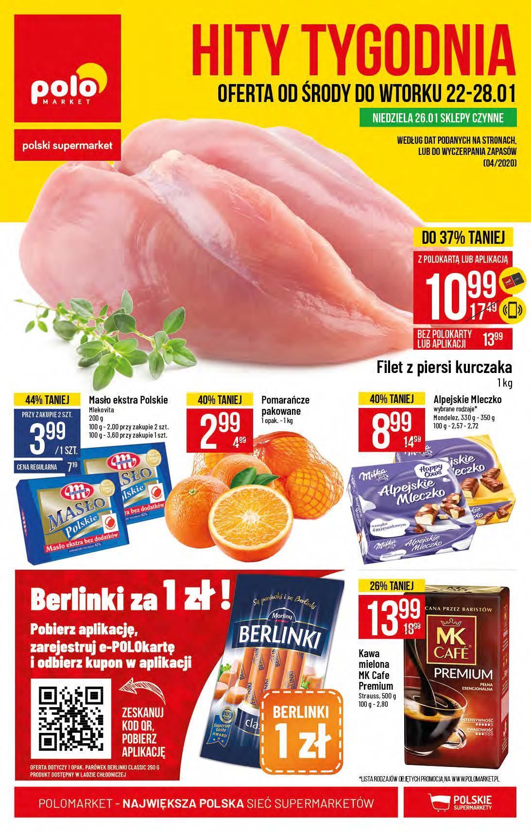 Gazetka promocyjna POLOmarket do 28/01/2020 str.1
