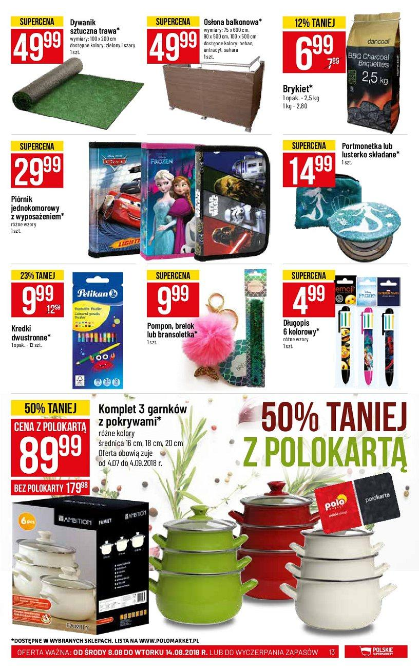 Gazetka promocyjna POLOmarket do 14/08/2018 str.13