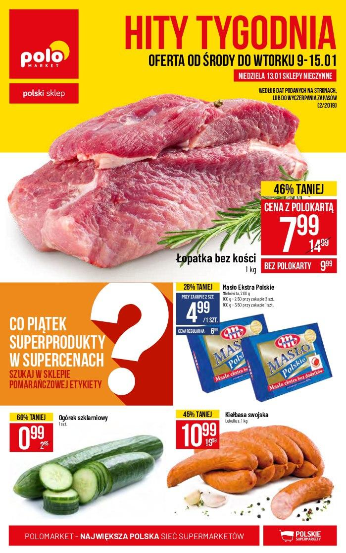Gazetka promocyjna POLOmarket do 15/01/2019 str.1