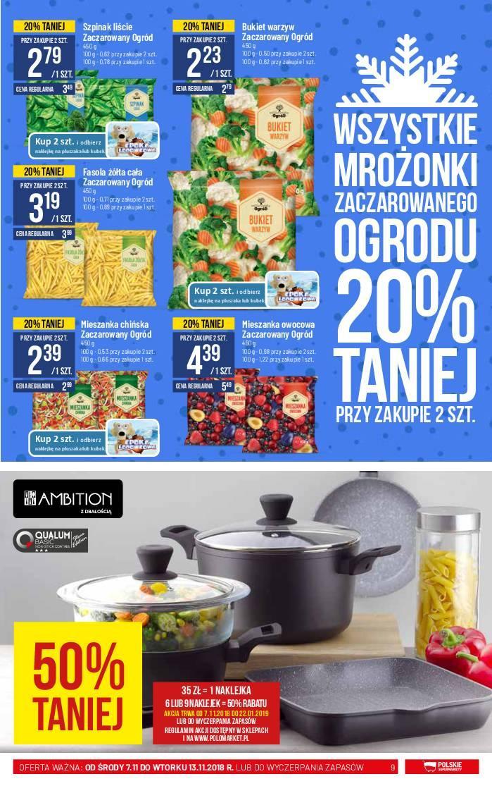 Gazetka promocyjna POLOmarket do 13/11/2018 str.9