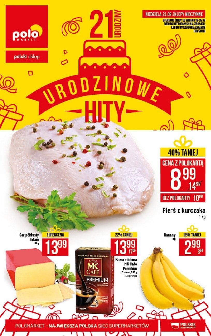 Gazetka promocyjna POLOmarket do 25/09/2018 str.1
