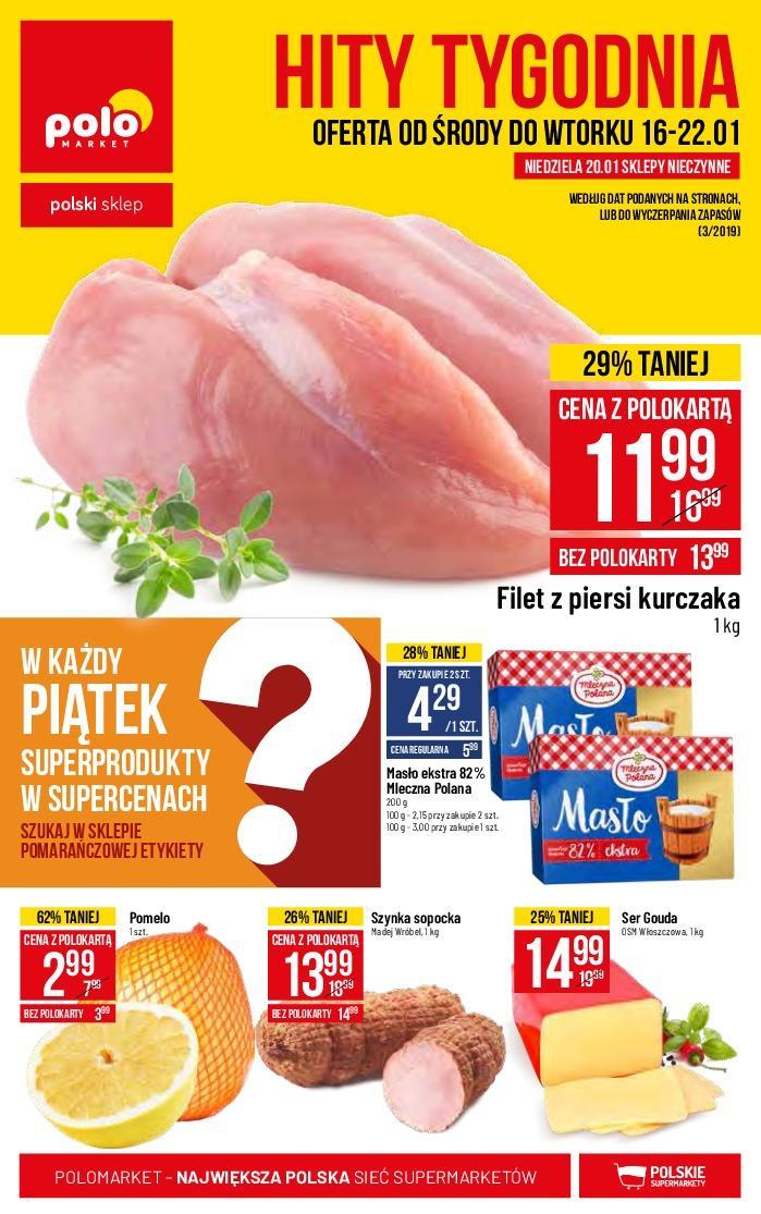 Gazetka promocyjna POLOmarket do 22/01/2019 str.1