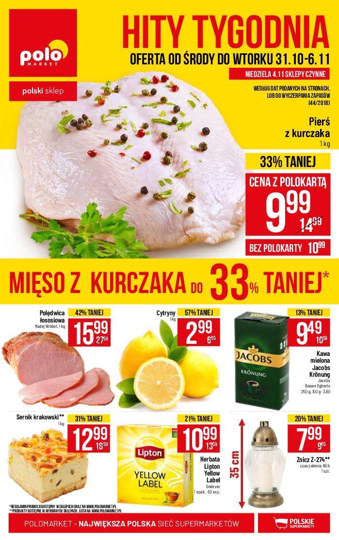 Gazetka promocyjna POLOmarket do 06/11/2018 str.1