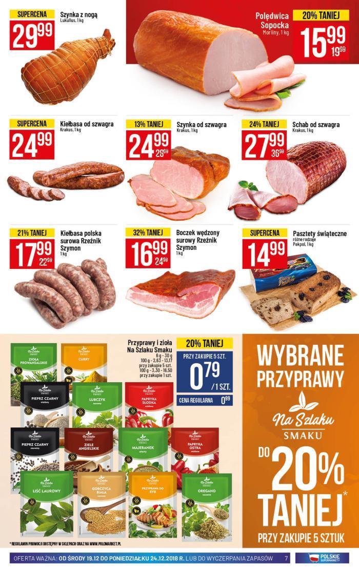 Gazetka promocyjna POLOmarket do 24/12/2018 str.6