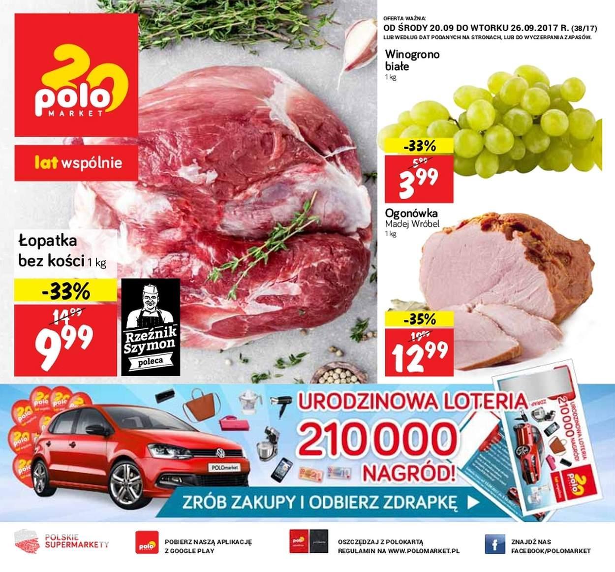 Gazetka promocyjna POLOmarket do 26/09/2017 str.0