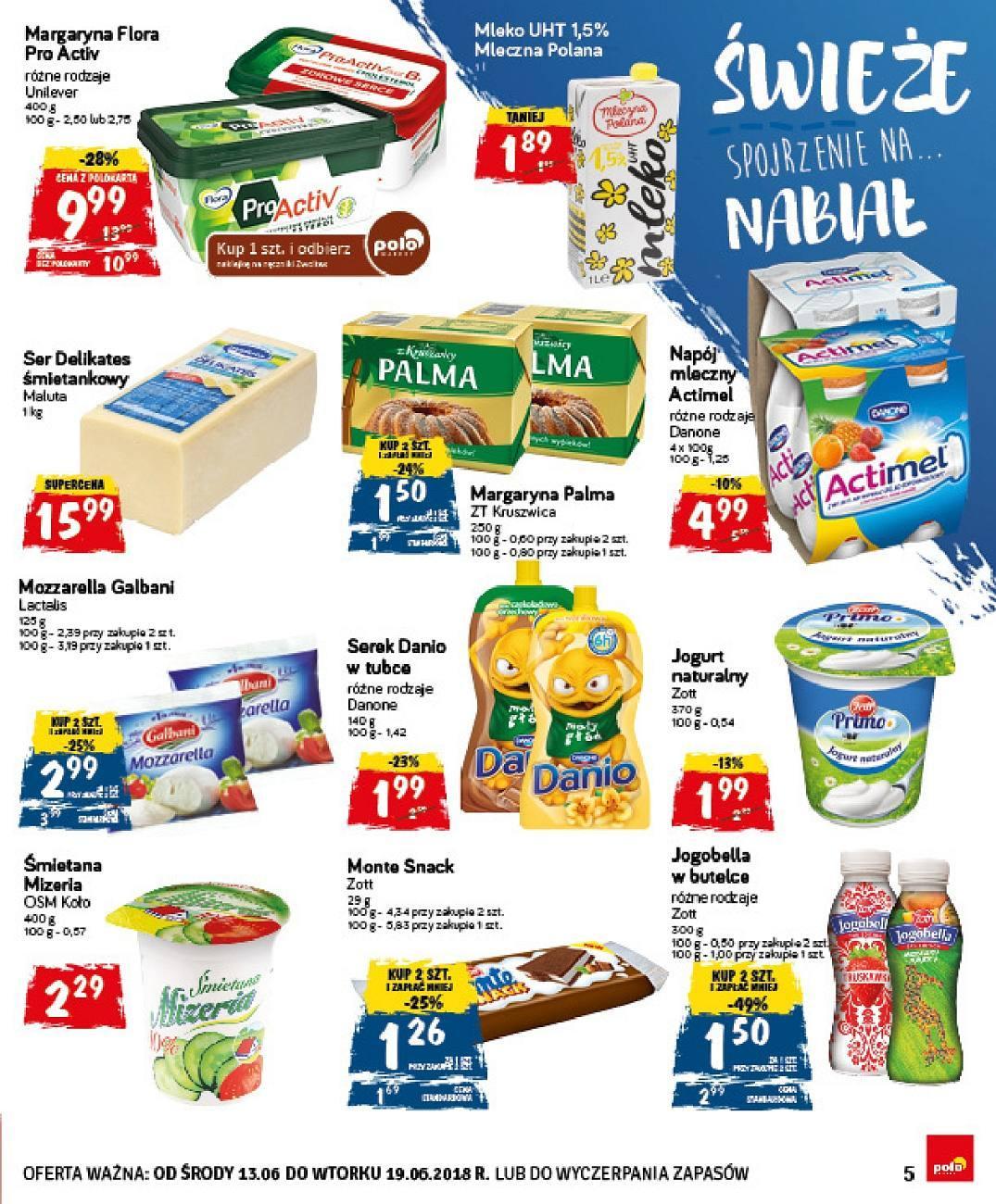 Gazetka promocyjna POLOmarket do 19/06/2018 str.5