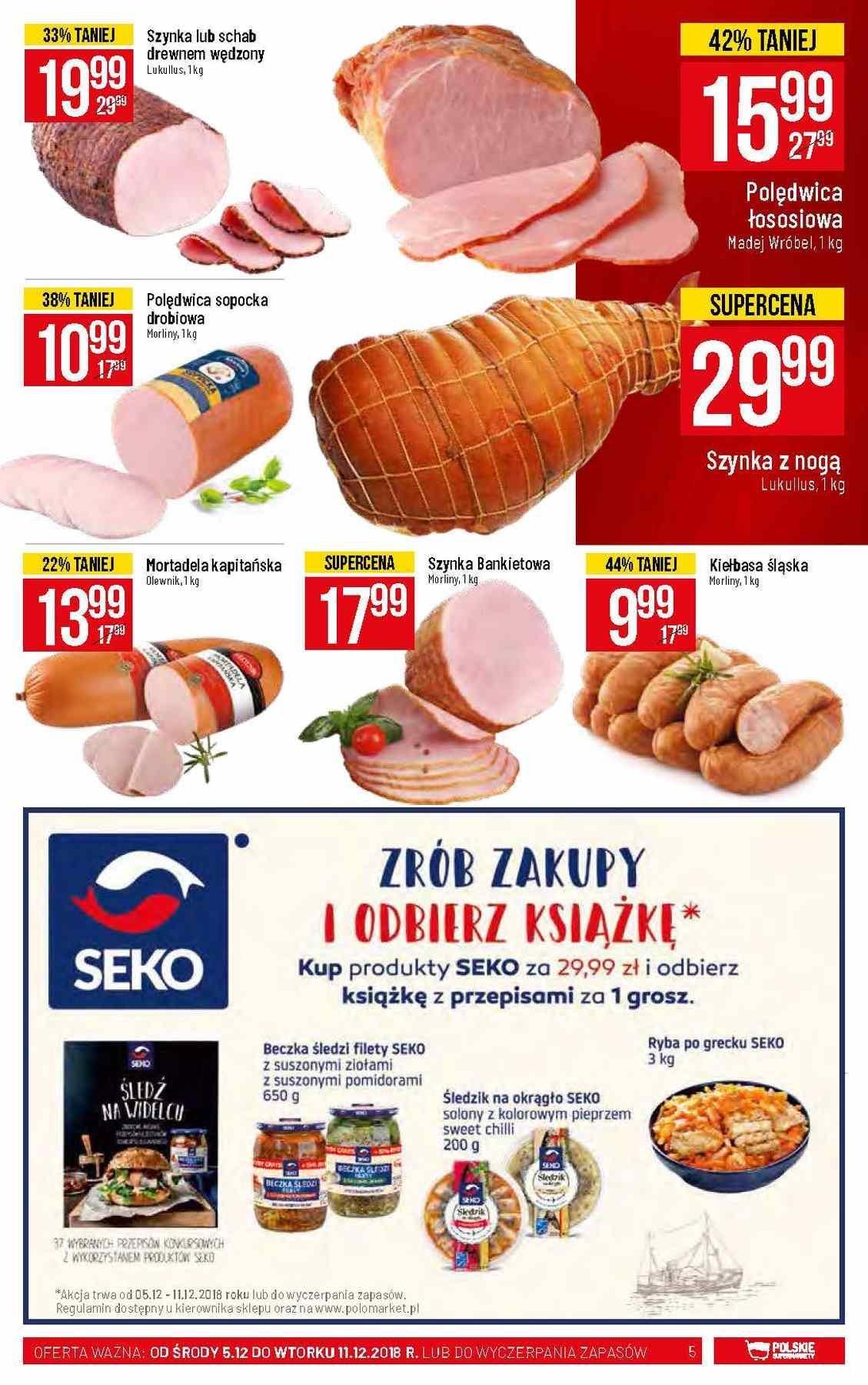 Gazetka promocyjna POLOmarket do 11/12/2018 str.5