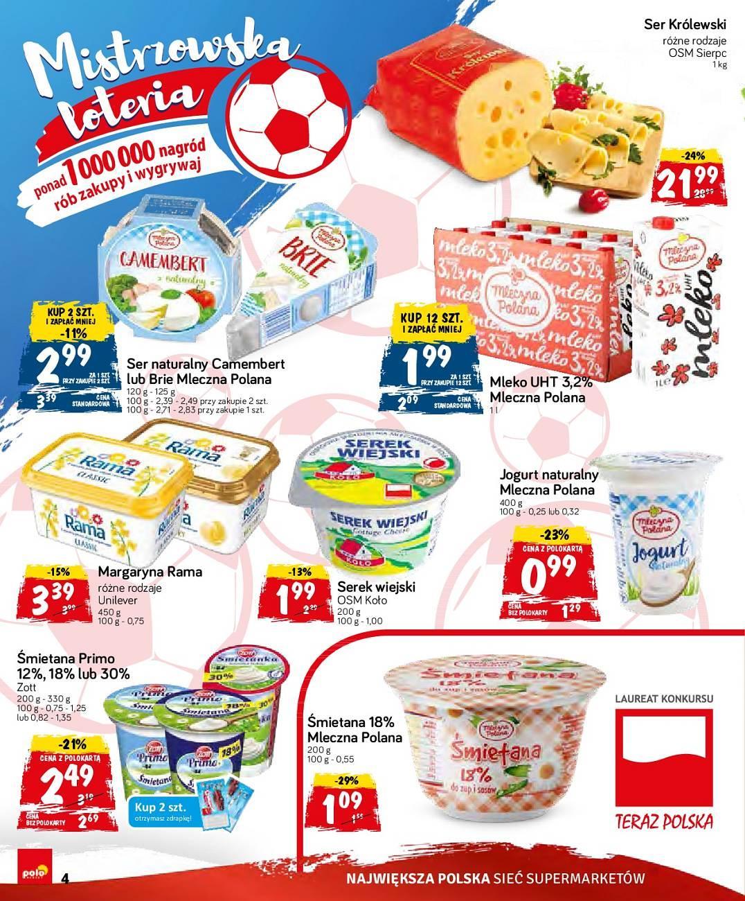 Gazetka promocyjna POLOmarket do 10/07/2018 str.4