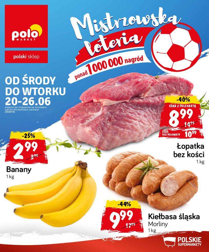 Gazetka promocyjna POLOmarket do 26/06/2018 str.0