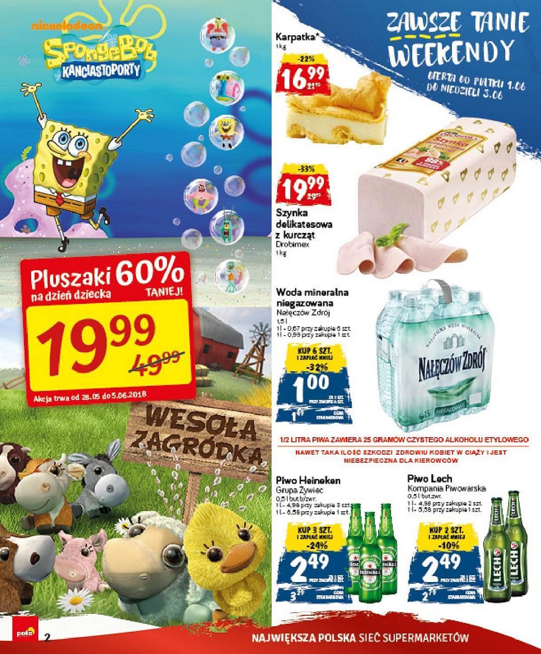 Gazetka promocyjna POLOmarket do 05/06/2018 str.1