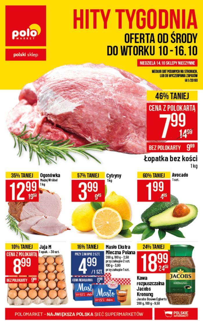 Gazetka promocyjna POLOmarket do 16/10/2018 str.0