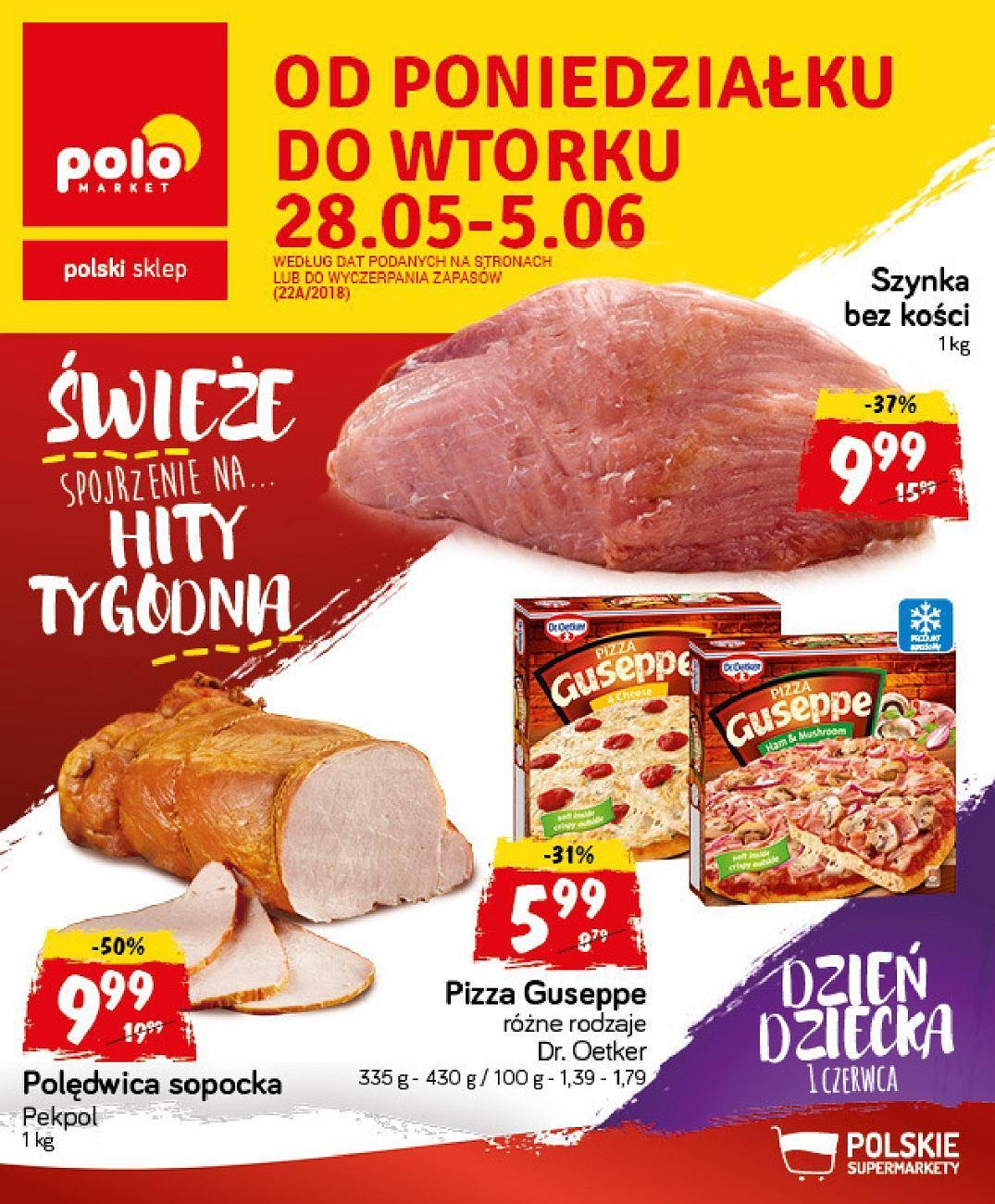 Gazetka promocyjna POLOmarket do 05/06/2018 str.0
