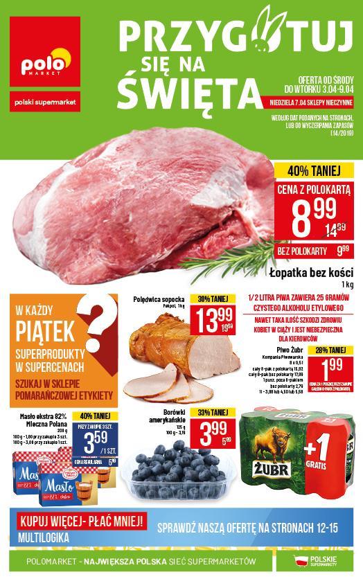 Gazetka promocyjna POLOmarket do 09/04/2019 str.0