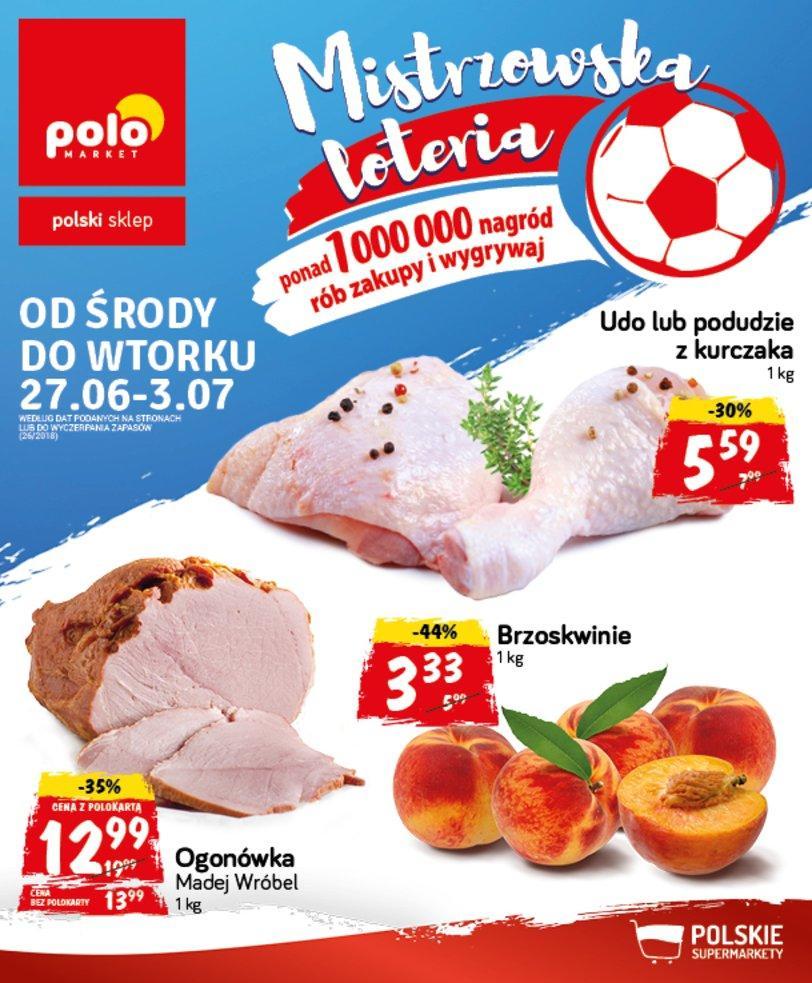 Gazetka promocyjna POLOmarket do 03/07/2018 str.0