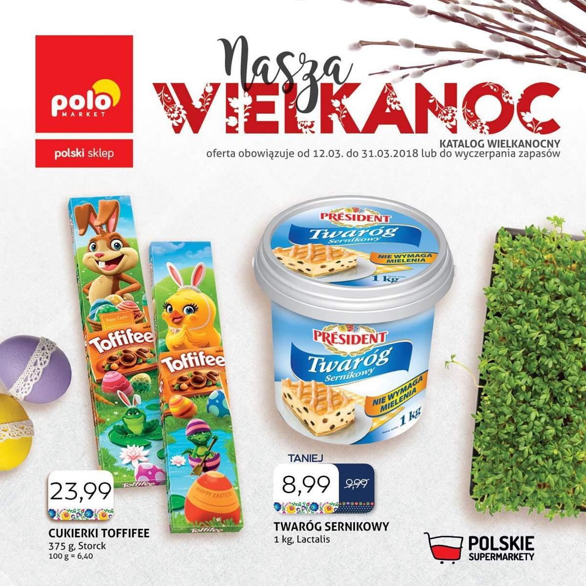 Gazetka promocyjna POLOmarket do 31/03/2018 str.0