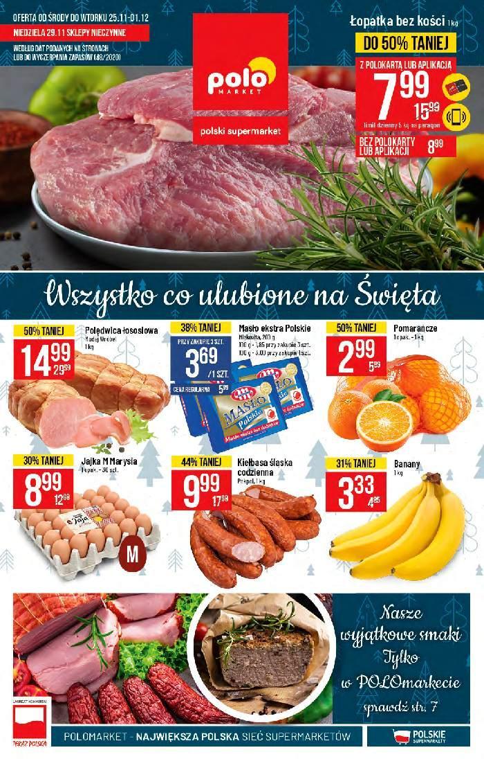 Gazetka promocyjna POLOmarket do 01/12/2020 str.1