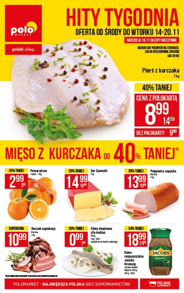 Gazetka promocyjna POLOmarket do 20/11/2018 str.1