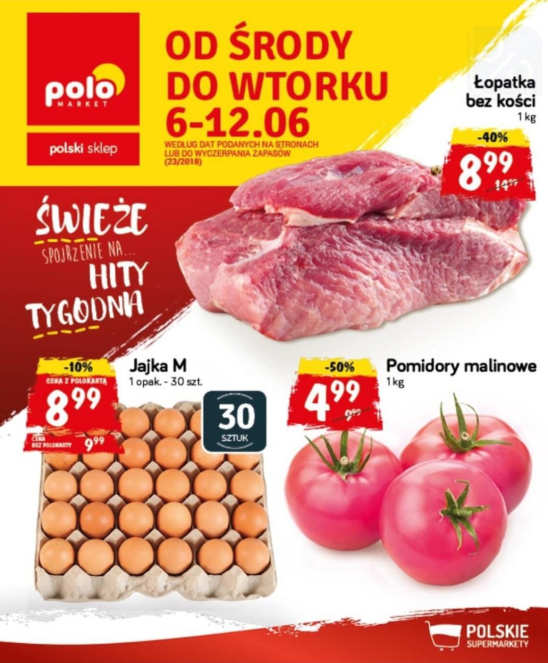 Gazetka promocyjna POLOmarket do 12/06/2018 str.0