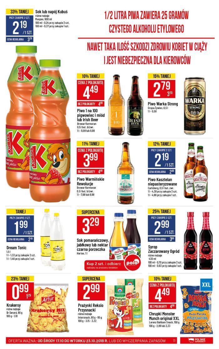 Gazetka promocyjna POLOmarket do 23/10/2018 str.10