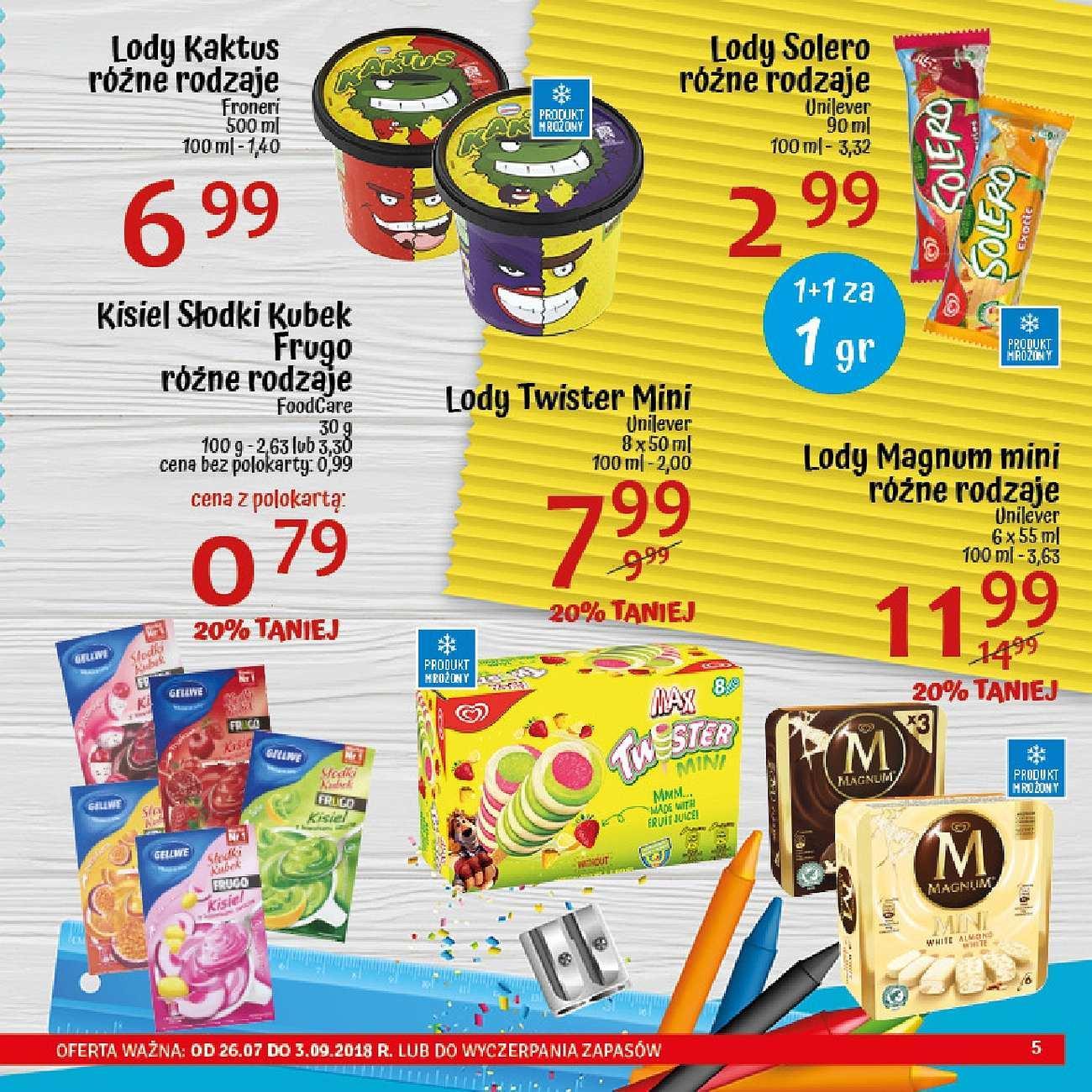 Gazetka promocyjna POLOmarket do 03/09/2018 str.5