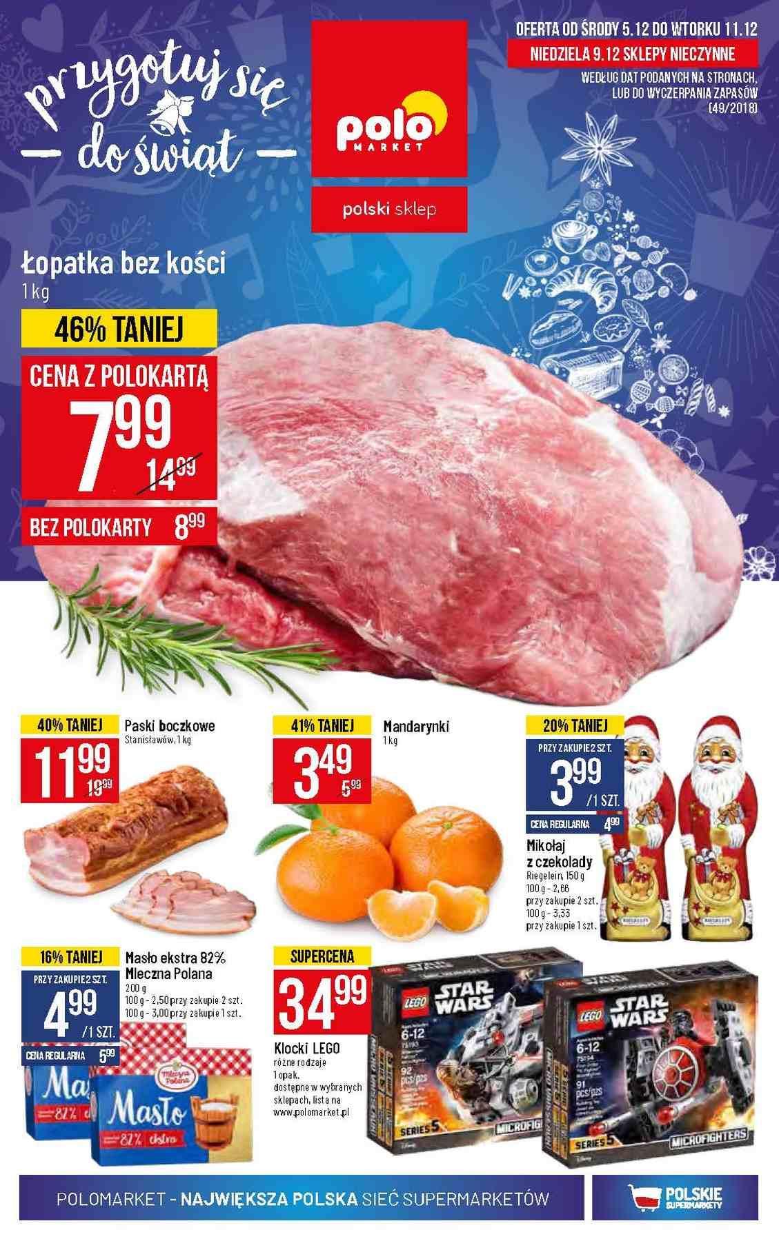 Gazetka promocyjna POLOmarket do 11/12/2018 str.1
