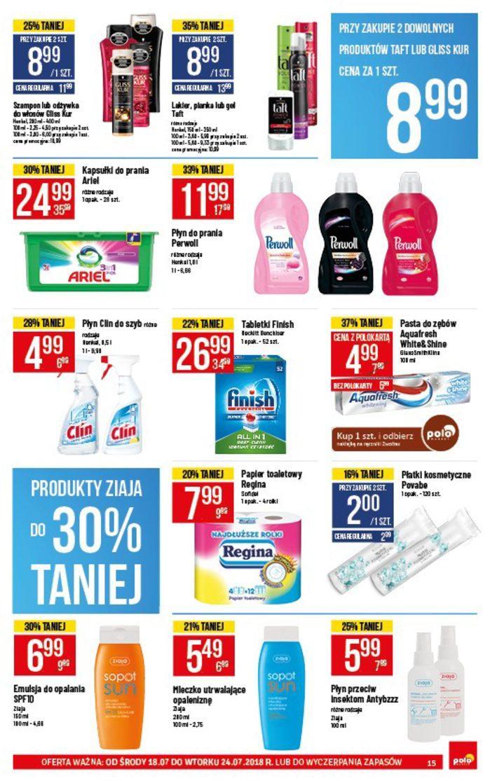Gazetka promocyjna POLOmarket do 24/07/2018 str.14