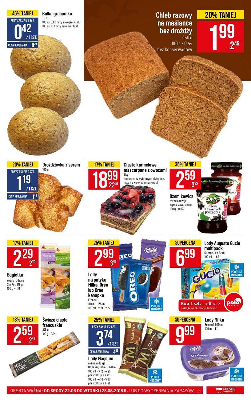 Gazetka promocyjna POLOmarket do 28/08/2018 str.4