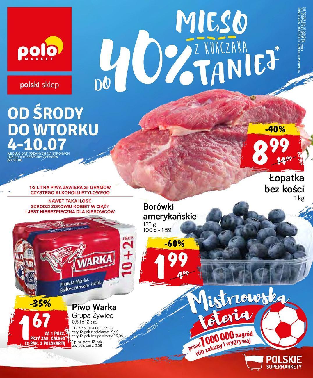 Gazetka promocyjna POLOmarket do 10/07/2018 str.0