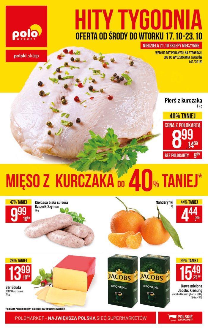Gazetka promocyjna POLOmarket do 23/10/2018 str.0