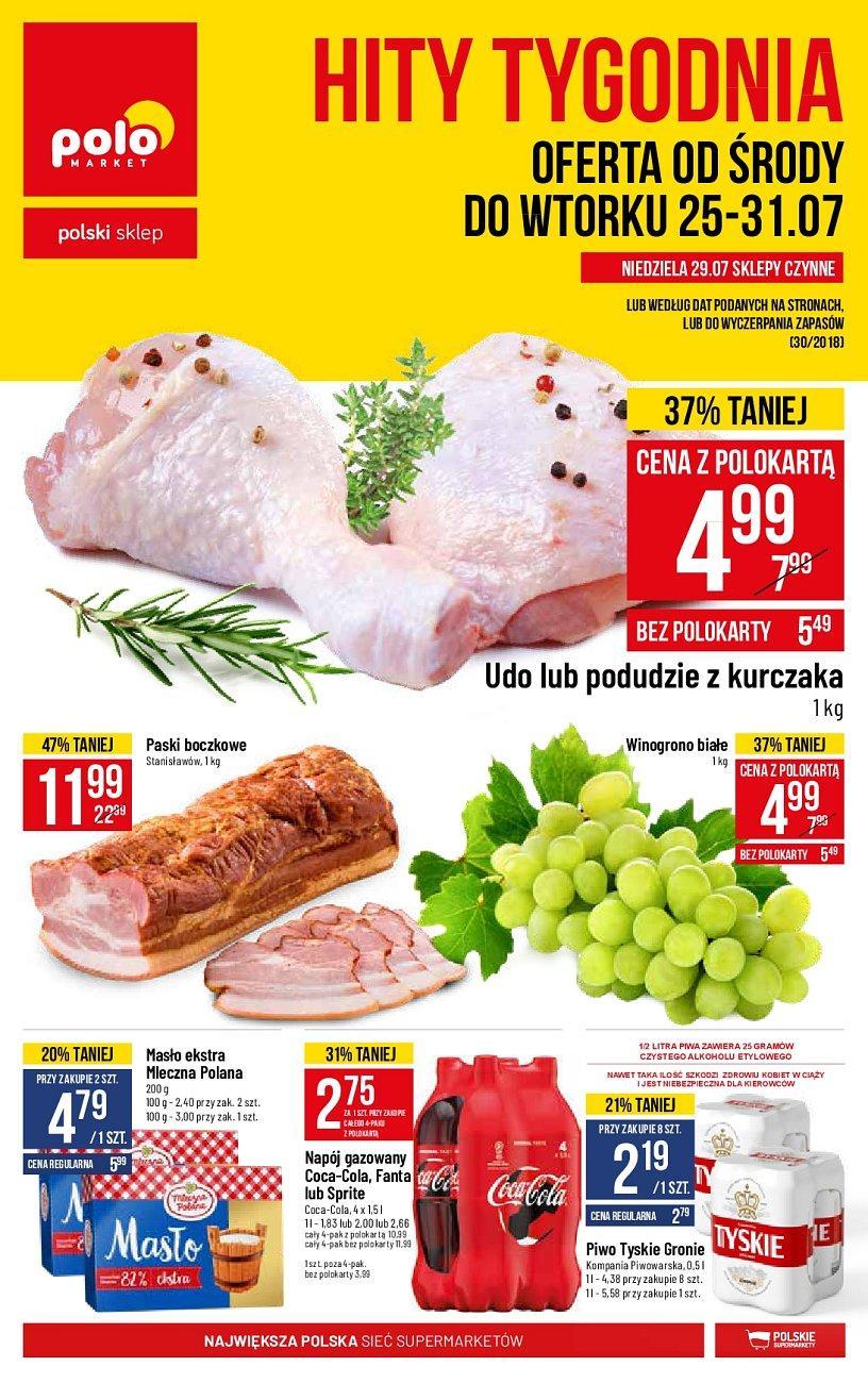 Gazetka promocyjna POLOmarket do 31/07/2018 str.0