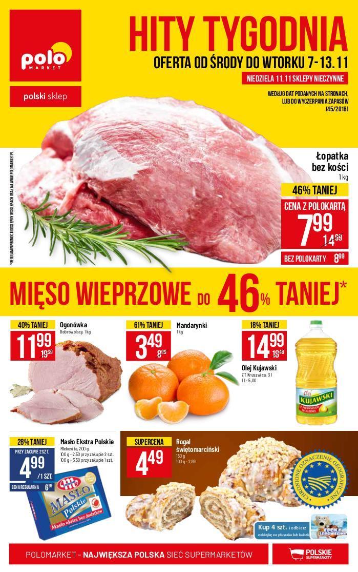 Gazetka promocyjna POLOmarket do 13/11/2018 str.1
