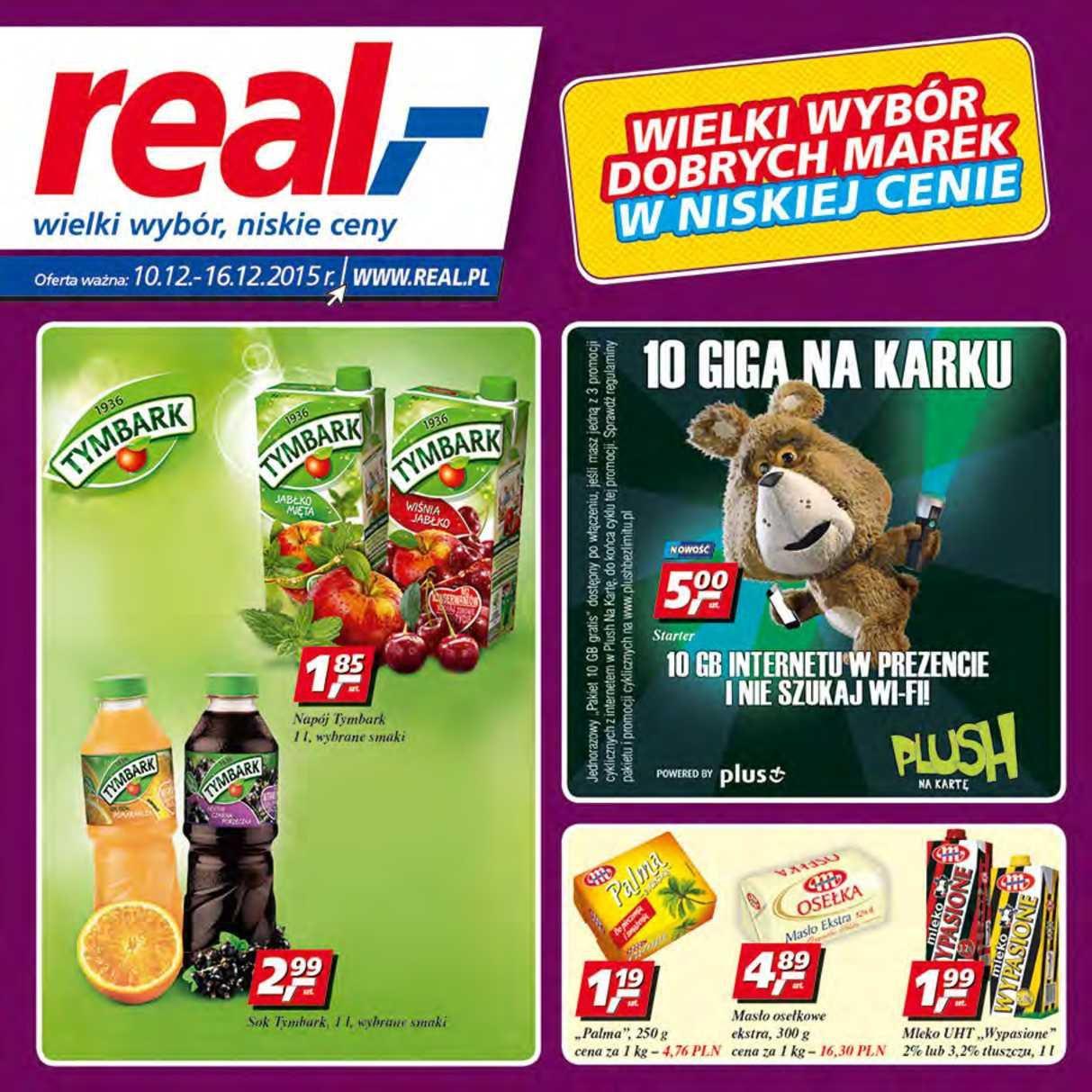Gazetka promocyjna Real do 16/12/2015 str.1