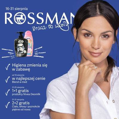 Rossmann gazetka - od 16/08/2019 do 31/08/2019