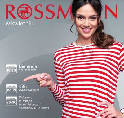 Rossmann gazetka - od 16/04/2019 do 30/04/2019