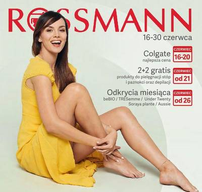 Rossmann gazetka - od 16/06/2019 do 30/06/2019