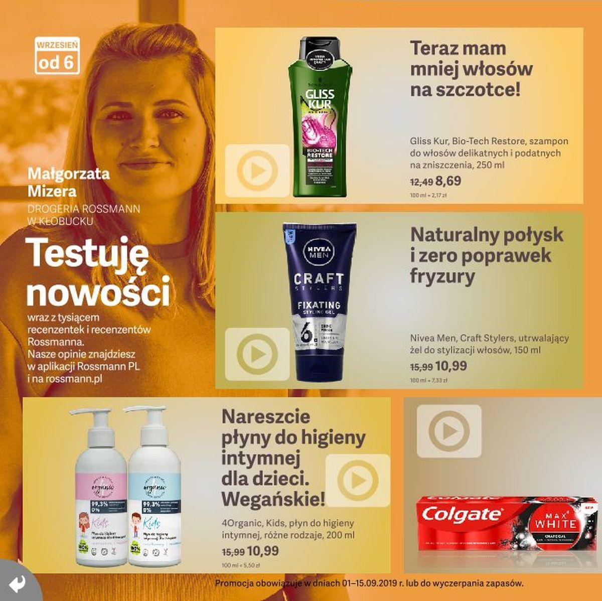 Gazetka promocyjna Rossmann do 15/09/2019 str.4