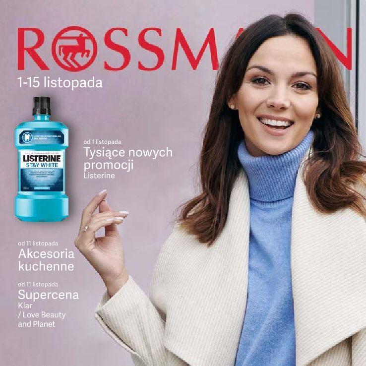 Gazetka promocyjna Rossmann do 15/11/2019 str.1