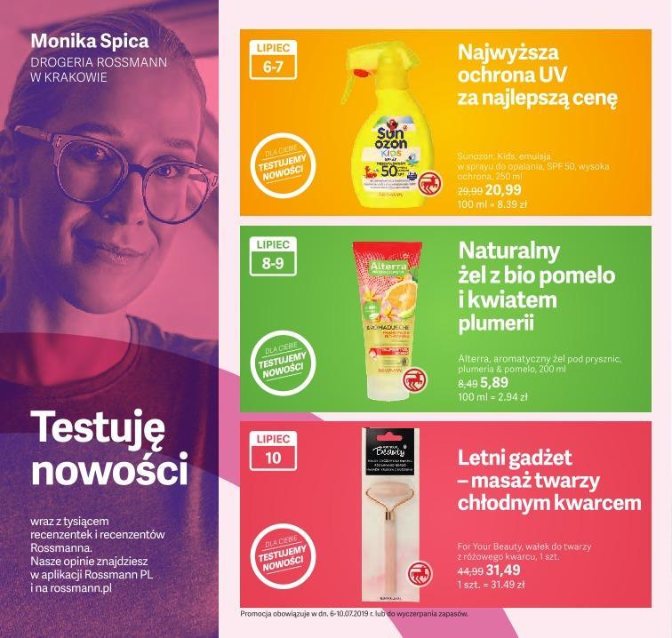 Gazetka promocyjna Rossmann do 31/07/2019 str.4