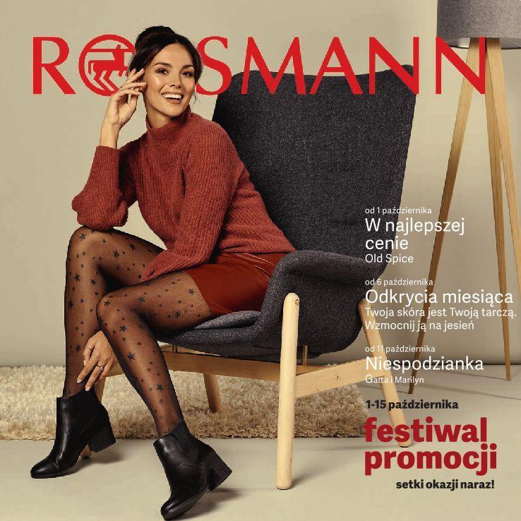 Gazetka promocyjna Rossmann do 15/10/2019 str.1