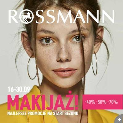 Rossmann gazetka  - od 16/09/2019 do 30/09/2019