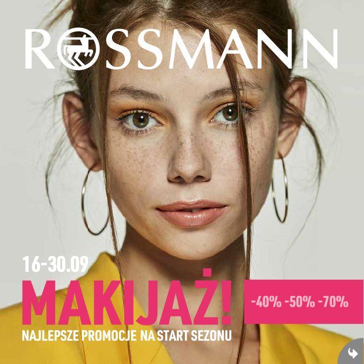 Gazetka promocyjna Rossmann do 30/09/2019 str.1
