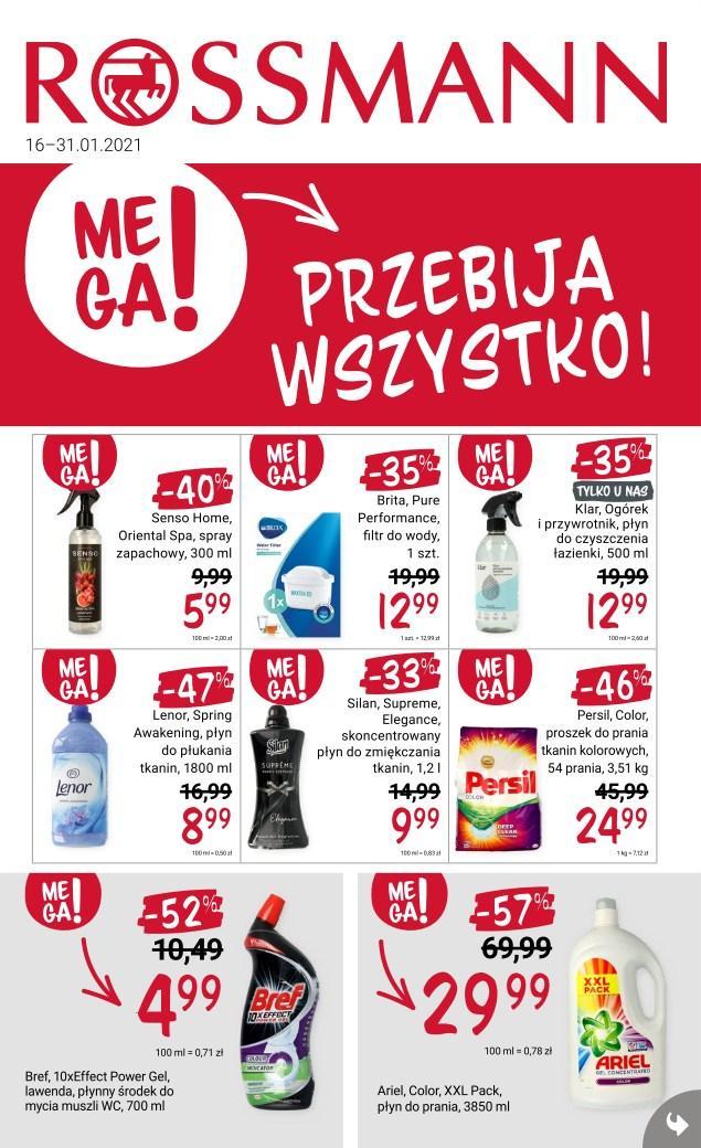 Gazetka promocyjna Rossmann do 31/01/2021 str.1