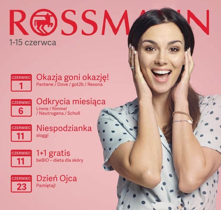 Gazetka promocyjna Rossmann do 15/06/2019 str.1