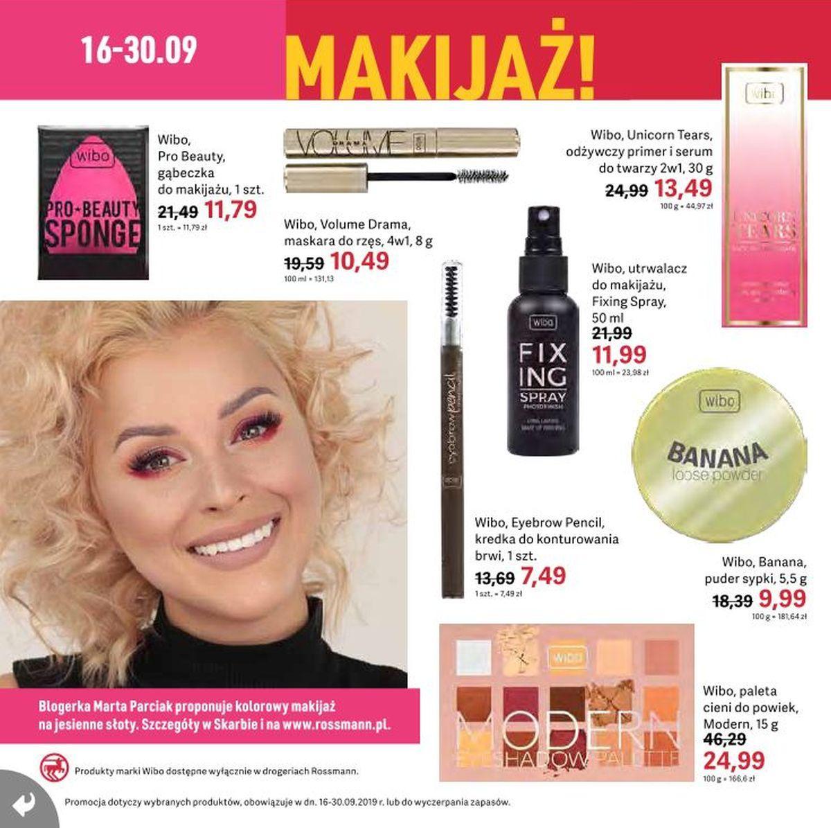 Gazetka promocyjna Rossmann do 30/09/2019 str.16