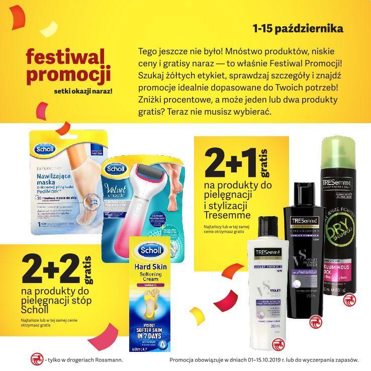 Gazetka promocyjna Rossmann do 15/10/2019 str.2
