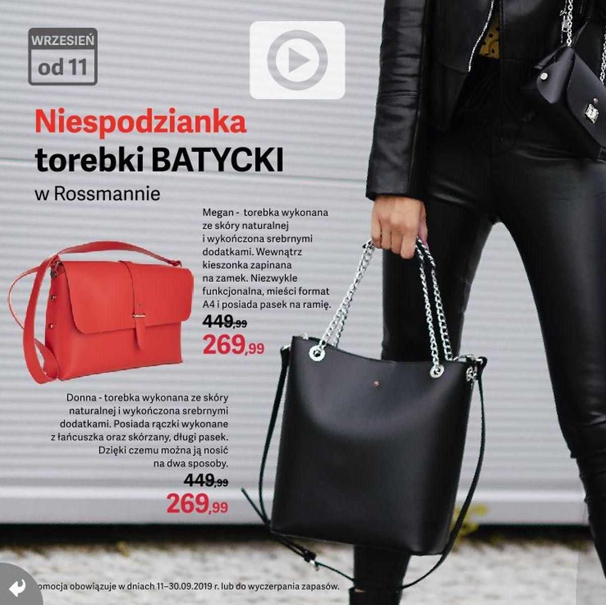 Gazetka promocyjna Rossmann do 15/09/2019 str.6