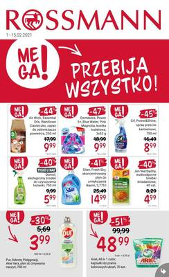 Rossmann gazetka - od 01/02/2021 do 15/02/2021