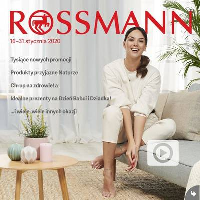 Rossmann gazetka - od 16/01/2020 do 31/01/2020